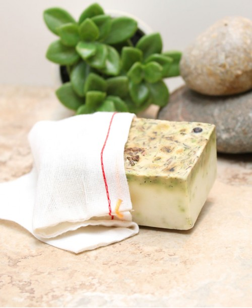 Peppermint Bark Oatmeal Soap